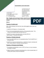 Standardizing Acids Bases 2006