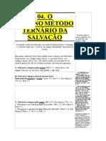 04 - O Enterno Metodo Ternário Da Salvação