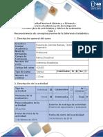 Guía de Actividades y Rúbrica de Evaluación – Fase 1 – Reconocimiento de Conceptos Previos de La Inferencia Estadística