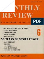 US MONTHY REVIEW [1967-11-00] 50 years of soviet power.pdf