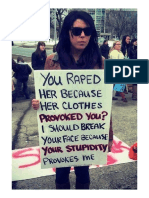 For Those of You Who Blame the Victim in Rape Cases, Consider This!...