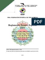 ReglamentoTecnicoEspecialPistola2009-2ED