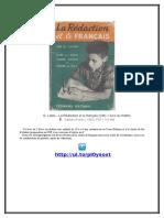 [FREE] G. Lalire - La Rédaction et le français (CM) + livre du maître