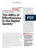 The ABCS of effectivenes