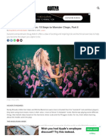 Www Guitarworld Com Lessons Doug Aldrich Master Class 10 Steps to Monster Chops Part II