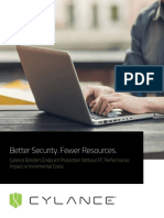 Better Security and Fewer Resources
