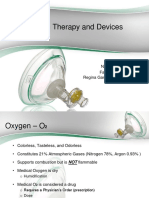 Oxygen Therapy and Devices Lecture PPT