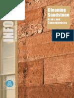 Cleaning Sandstone - risks