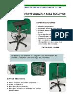 Catalogo de Soportes Biomedical Servín S.a. de C.V.