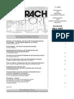 Sprach Report