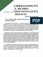 Liberalismo en Bolivia