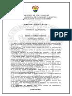 Prova Cp 596 - Terapeuta Ocupacional
