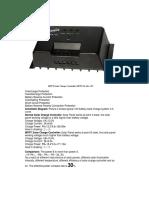MPPT-10 Juta Solar Charge Controller 12V10A-1
