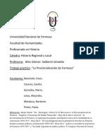 la Provincializacion de Formosa.docx