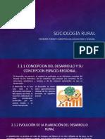 Sociología Rural