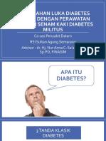 Mencegah Dan Mengenali Kaki Diabetes