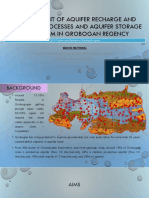Management of Aquifer Recharge and Discharge Processes And