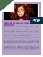 CARTA DE UN HIJO A SUS PADRES SEPARADOS.doc