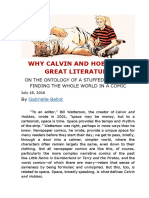 WHY CALVIN AND HOBBES IS GREAT LITERATURE.docx