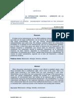 Import an CIA de La Interaccion Genetica - Ambiente en La Etiologia de Las Maloclusiones
