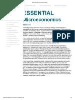 Essential Microeconomics Preface