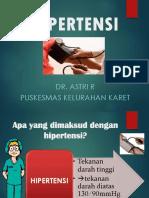Penyuluhan Prolanis Hipertensi - 1