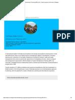 Infrastructure Planning (MIP) M.sc. _ Study Program _ University of Stuttgart