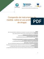 Investigación uso de drogas