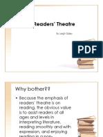 Readers' Theatre