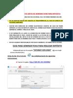 Manual Inscripcion Nuevo Ingreso 2019