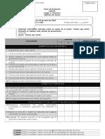Pauta de evaluación sobre Lapbook lectura complementaria 7° básico