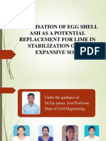 Valorisation of Egg Shell Ash as a Potential [Autosaved]