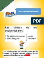 Actos y Concidiones y Cultura de Prevención.