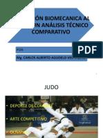 Aplicacion biomecanica a la tecnica de JUDO
