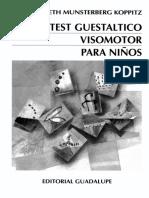 Test Gestaltico Visomotor para niños- Elizabeth Munsterberg.pdf