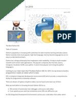 Brainywit.com-10 Best Python IDEs for 2019
