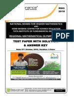 ICSE 2018 Mathematics Solution Class 10