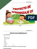 PROYECTO DE APRENDIZAJE  6°    2015.docx