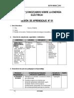 SESIÓN DE APRENDIZAJE DEL PROYECTO  6° OCTUBRE - 2015.docx
