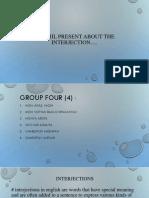 Kelompok 4 Interjection