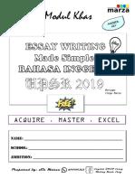 Essay English UPSR