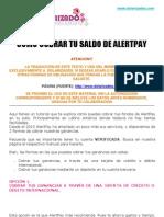 COMO COBRAR COMISIONES-SALDO ALERTPAY - MANUAL EN ESPAÑOL