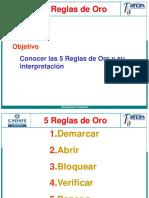 5 REGLAS DE ORO - PRESENTACIᅮN.ppt