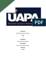 Tarea 3 Ética Prof. de los docentes..docx