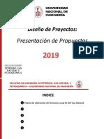 Presentación de Propuestas