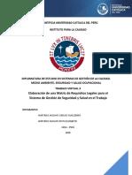 Modelo Matriz de Requisitos Legales