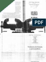 20 - Puget, Janine - Violencia Social y Psicoanálisis, De Lo Ajeno-estructurante a Lo Ajeno-Ajenizante (19 Copias)
