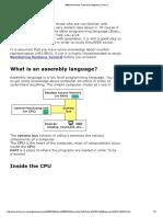 8086 Assembler Tutorial for Beginners (Part 1)