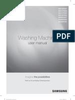 Washing Machine User Manual Samsung
