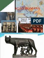 Historia de Roma- resumo